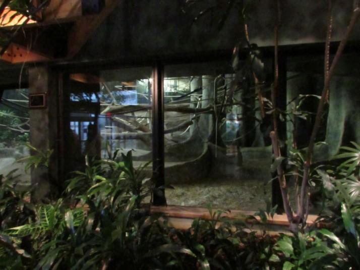 Primate home at Milwaukee Zoo