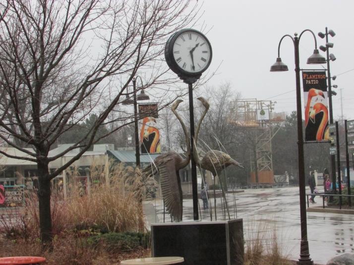 Clock at Milwaukee Zoo