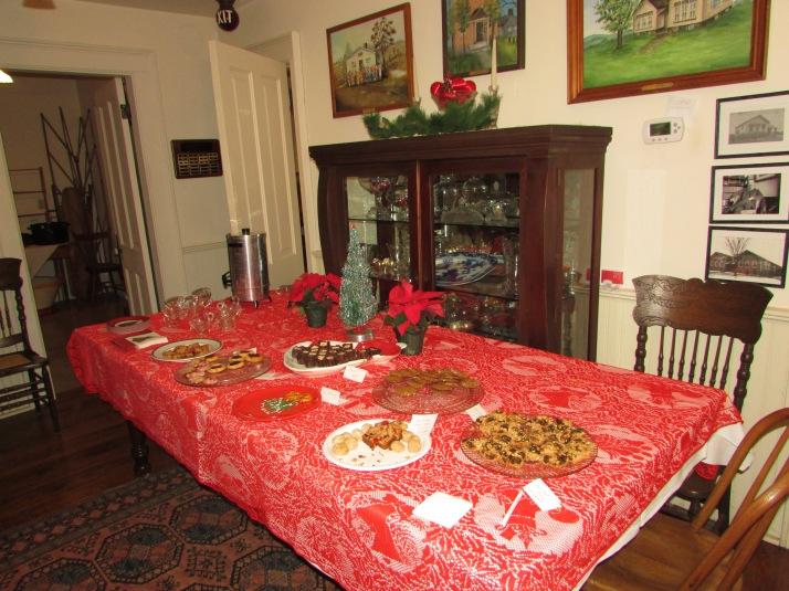 Dean House treat table IMG_9718