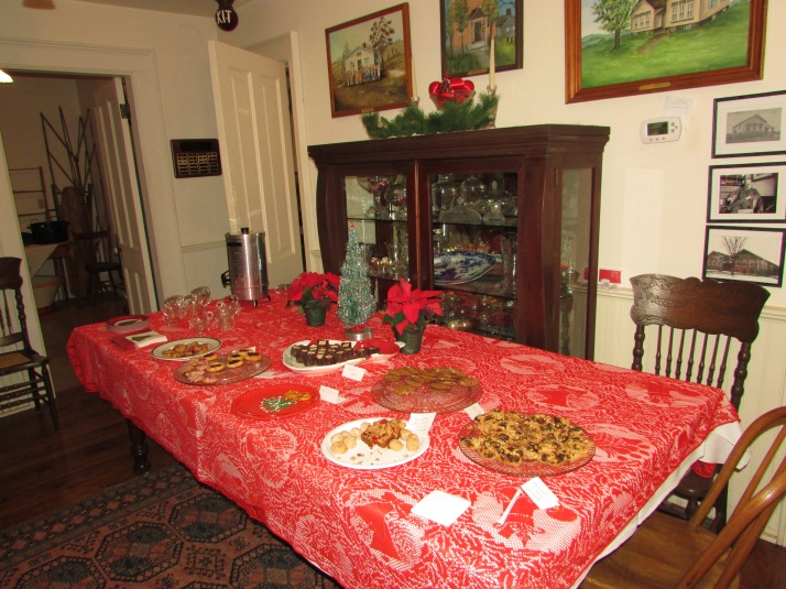 Dean House treat table IMG_9718