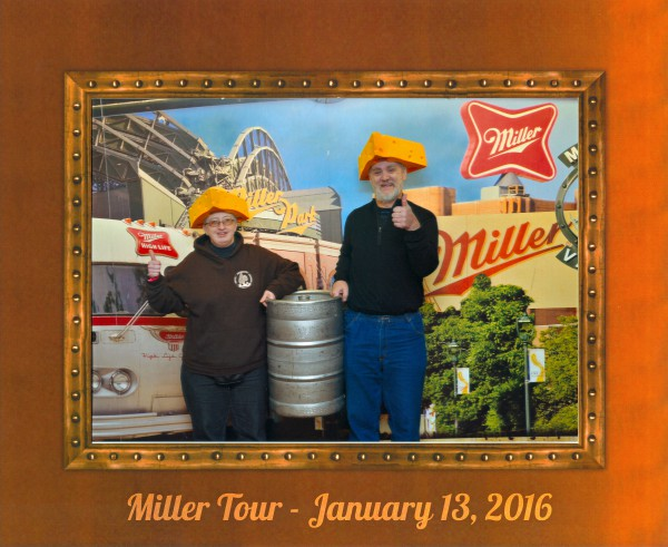 Miller Tour Selfie text