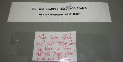 Rober Bean Door Sign IMG_9678