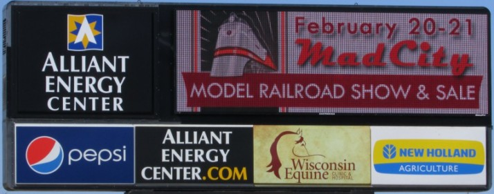 Alliant Energy Center sign