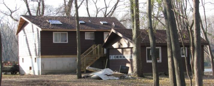Former Lorine Niedecker house