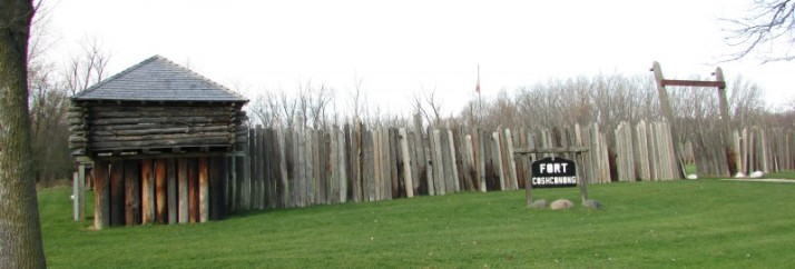 Fort Koshkonong replica in Ft. Atkinson