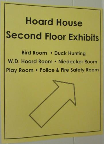 Hoard 2nd Floor Exhibits
