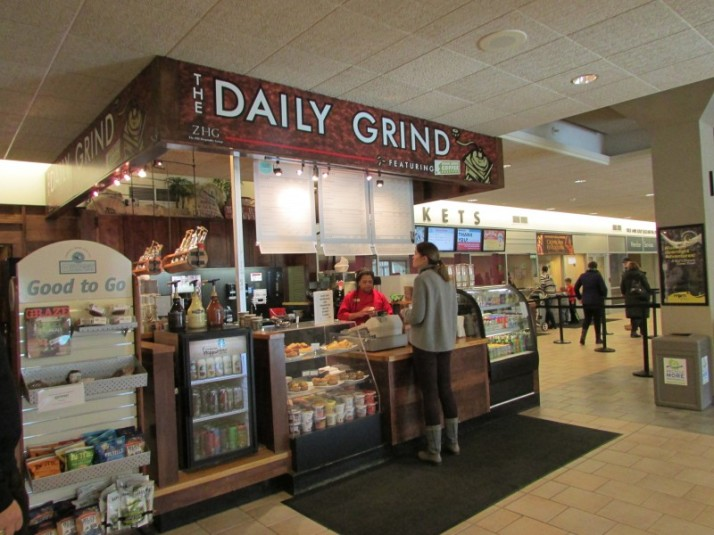 The Daily Grind coffee at museum
