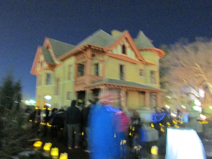Allen House 6 seconds at Luminous