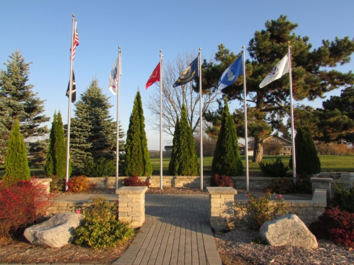 Vets Memorial in Ft. Atkinson