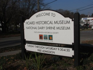Hoard Museum sign