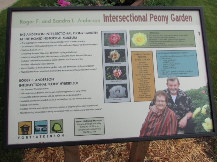 Intersectional Peony Garden sign