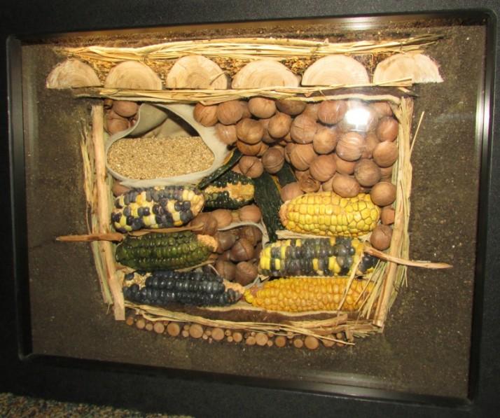 Indian Food display at Hoard