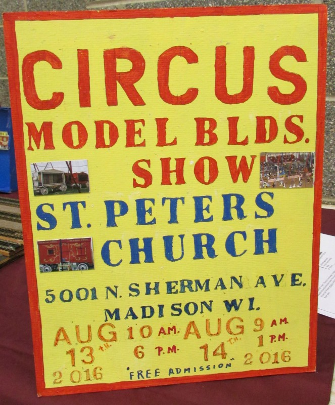 Model Circus train at St. Peters