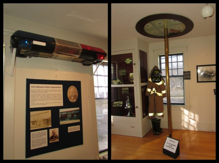 Police and Fire Room at Hoard