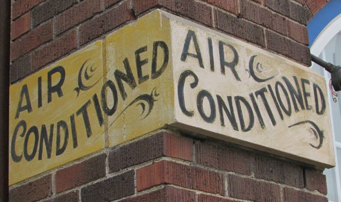 Air Conditioned cornerstone