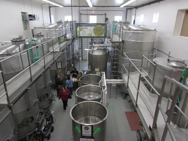 Fermentation Room at Wollersheim