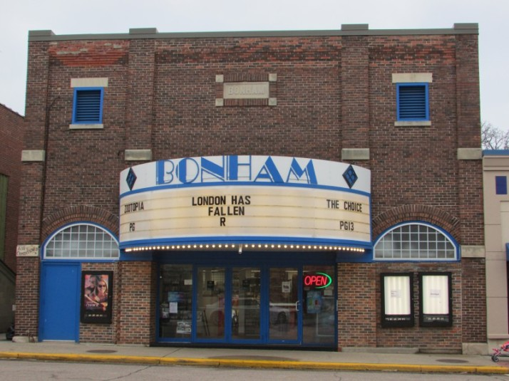 Bonham Theater in Prairie du Sac