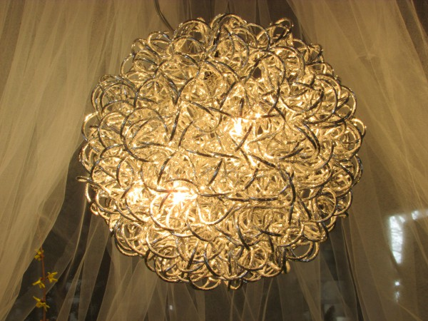 Decorative Light at Flower Show
