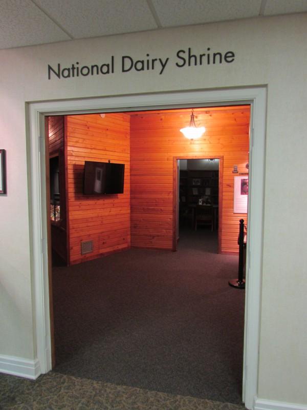 Dairy Shrine entrance