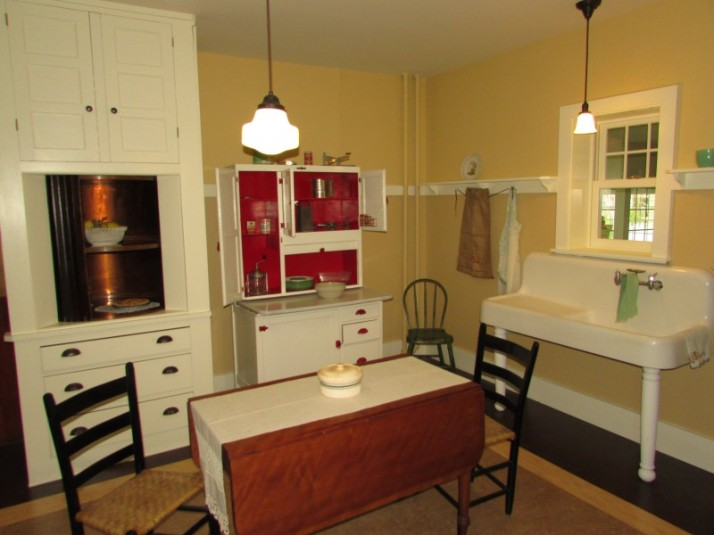 Kitchen at Hoard house