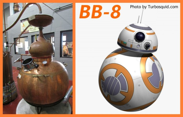 Little Pot and BB8 Droid