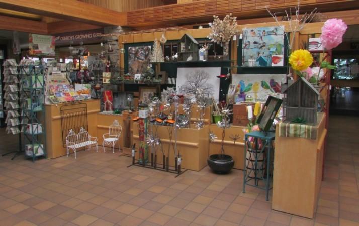 Olbrich Gardens Gift Shop in Spring