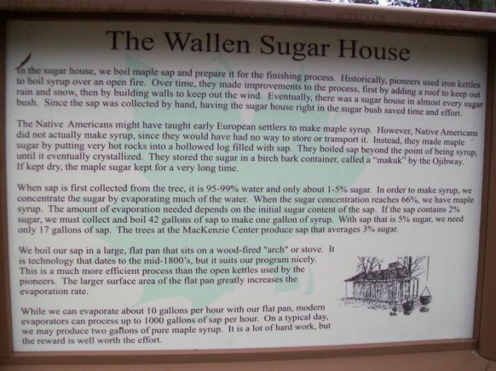 Wallen Sugar House Sign