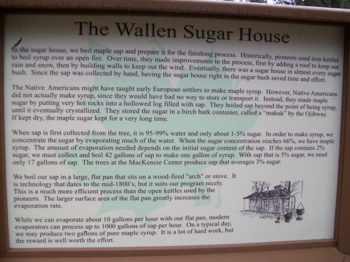 Wallen Sugar House Sign