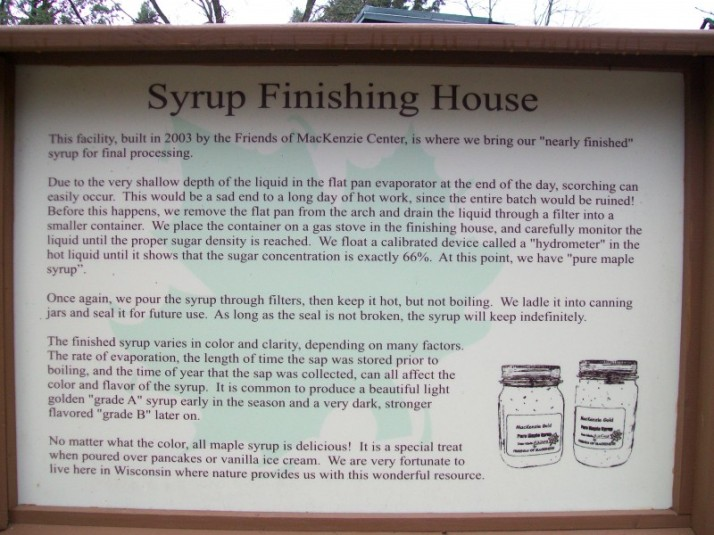 Syrup Finishing House at Mackenzie