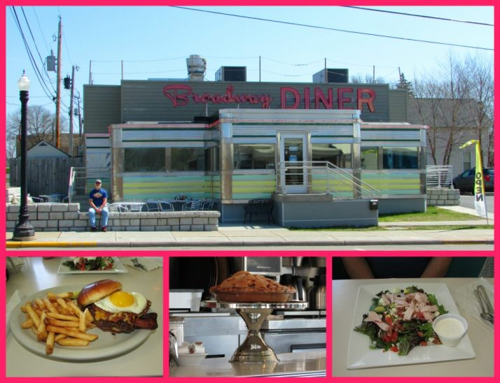 Broadway Diner collage
