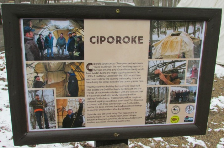 Ciporoke sign at MacKenzie