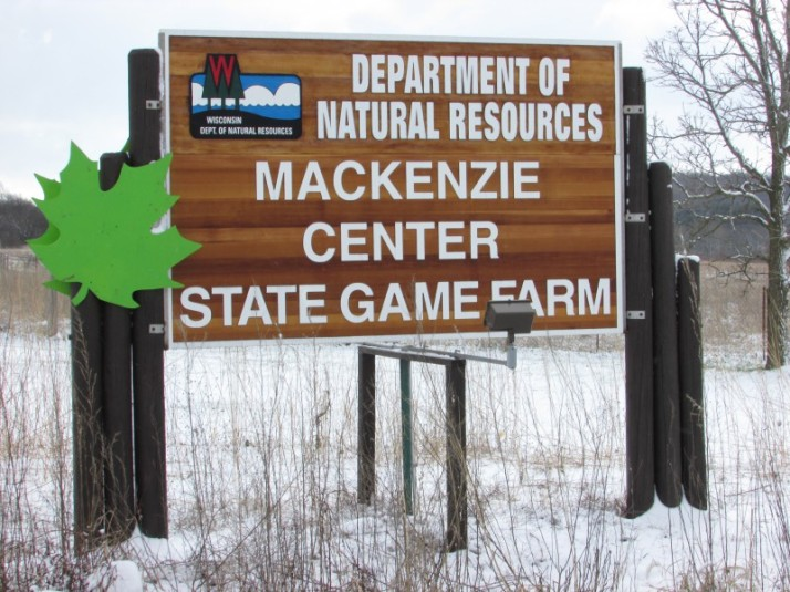 Mackenzie Center sign
