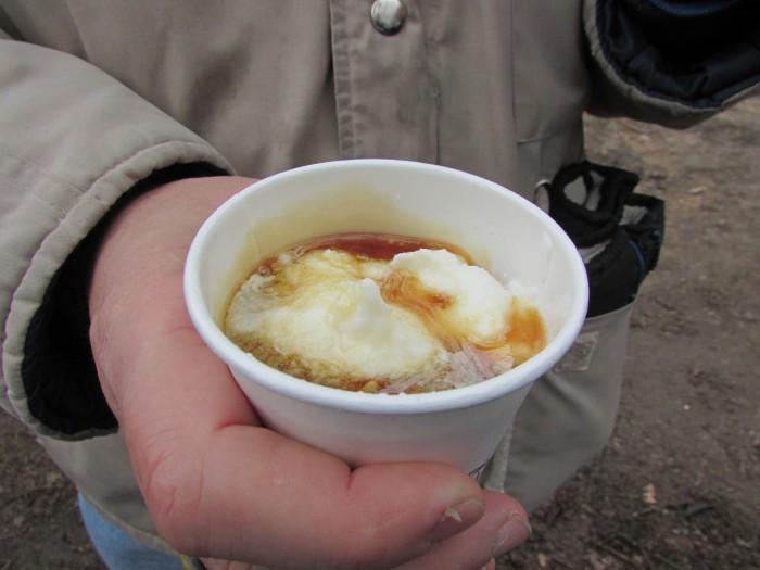 Vanilla Ice Cream and Syrup at Mackenzie