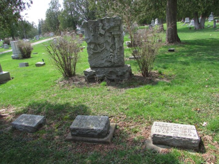 Ringling Grave sites at St. Joseph cemetery in Baraboo