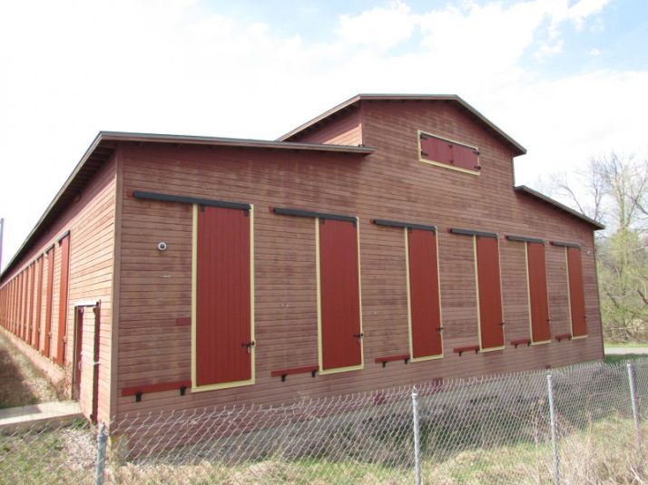 Circus World Rail Car building in Baraboo