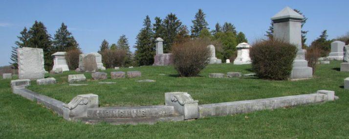 Ringling gravesites in Baraboo
