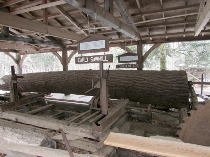 Sawmill building at Mackenzie