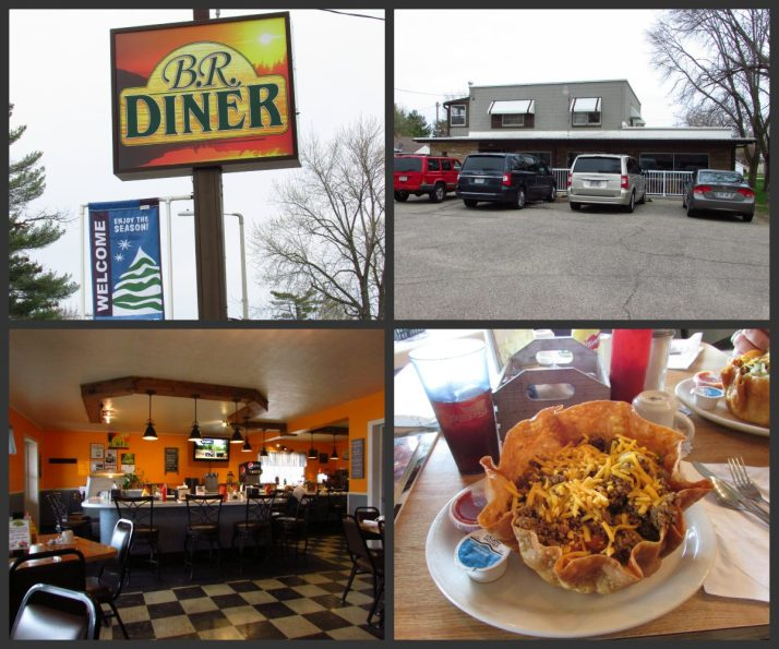 B.R. Diner in Redgranite Collage