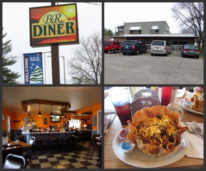 B.R. Diner in Redgranite Collage