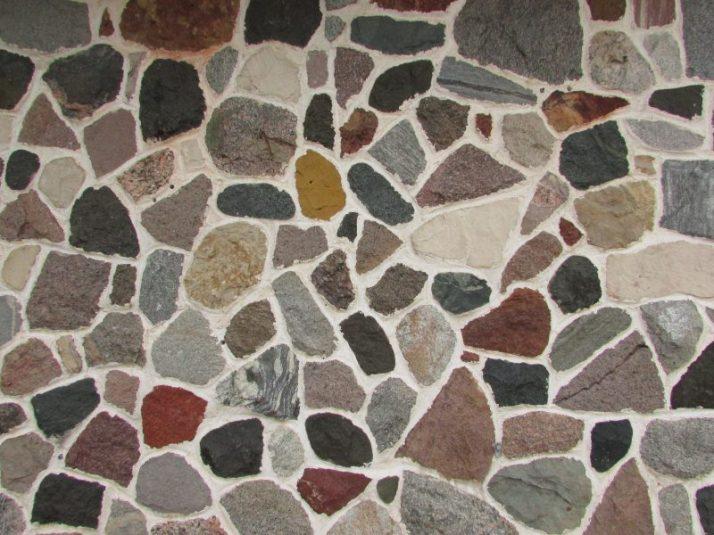 Nut-N-Fancy stone exterior in redgranite