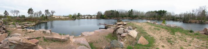 Redgranite Quarry 5 panorama platform