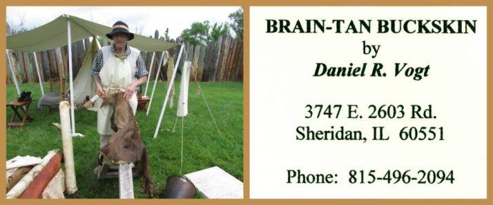 Daniel Vogt of Brain-Tan Buckskin