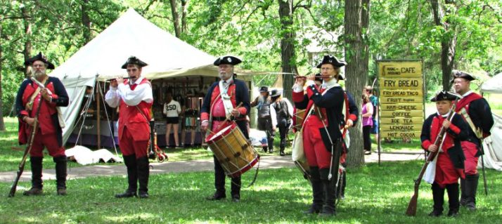 Fifes and Drums at Rendevous