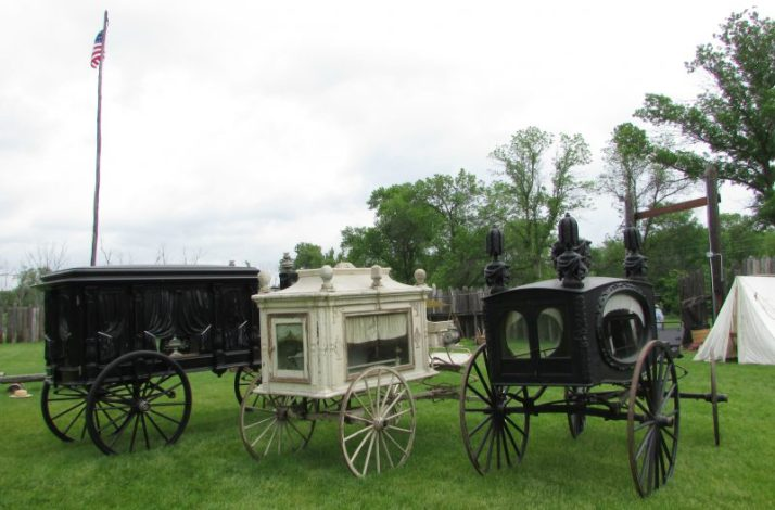 Hearses at Rendevous
