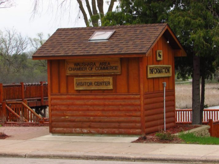 Waushara County Chamber of Commerce Info cabin