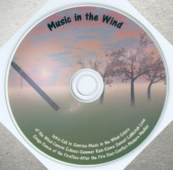 Music in the Wind CD - John Allen