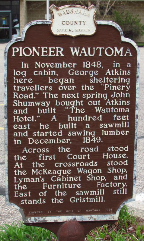 Pioneer Wautoma Marker