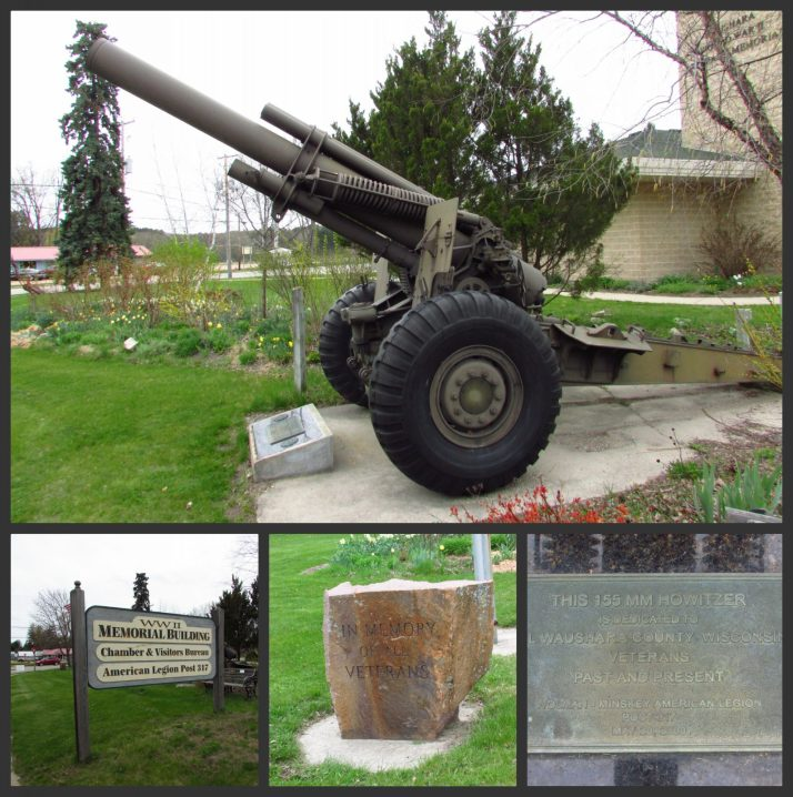 Veteran's Memorial in Wautoma