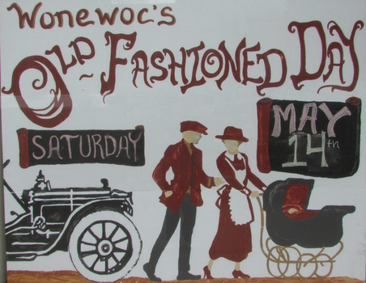Wonewoc Old Fashioned Day sign