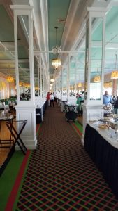 Grand Hotel dining room looking east
